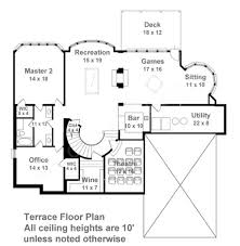 Colonial Floor Plans Centre Street Luxury Floor Plan Traditional House Plan