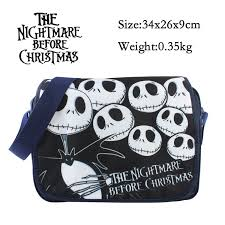 2017 new bag the nightmare before messenger