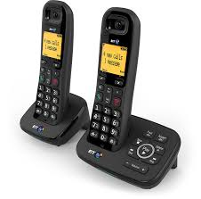 bt 1600 cordless dect home phone with digital answer amazon co uk