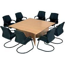 Square Boardroom Table Square Conference Tables Home Decorating Ideas