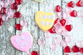 heart candies conversation heart cookies simply being