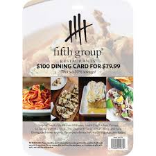 restaurant gift cards fifth restaurant gift cards 2 5