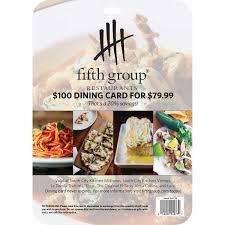 restaurants gift cards fifth restaurant gift cards 2 5