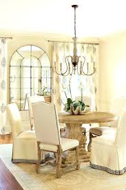 Rustic Dining Room Lighting by Bedroom Appealing Room Rustic Round Dining Table Chic Tables