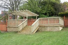 Decking Ideas For Sloping Garden Decking