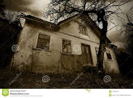 scary house clipart horror background the abandoned old creepy house stock photo