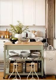 Narrow Kitchen Design With Island Narrow Kitchen Island On Wheels My Sweet Savannah A Cozy Neutral