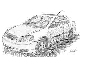 2005 toyota corolla quick sketch by neeher on deviantart