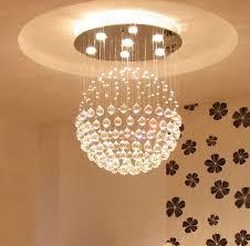 Ball Chandelier Lights Crystal Ball Chandelier Lighting Fixture Interior Design Ideas