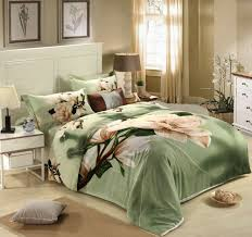 Wedding Comforter Sets Soothing Colors Wedding 4pc 3d Bedding Set Quilt Duvet Comforter