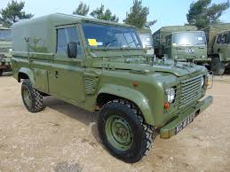 military land rover 110 you are bidding on direct from the uk ministry of defence a