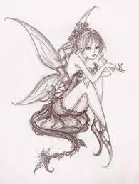 Fairy And Flower Tattoo Designs Tribal Fairy Tattoo Designs Google Search Tatoo Pinterest