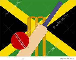 Cricket Flags Jamaican Cricket Stock Illustration I1258118 At Featurepics