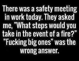 Work Meeting Meme - dopl3r com memes there was a safety meeting in work today they