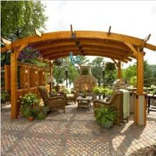 sonoma pergolas add privacy and practicality to a garden setting