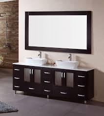 Bathroom Vanities On Sale by Denton 72â U20ac Double Sink Bathroom Vanity Set With Vessel Sinks