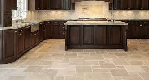 Tile In Kitchen Floor Tiling Kitchen Floor Home Design Ideas