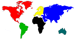 World Map To Color by Clipart World Map