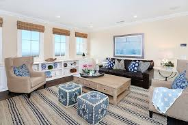 Beach Style Area Rugs 20 Beach Style Home Theaters And Media Rooms That Wow