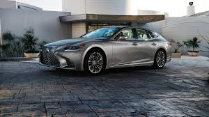 toyota lexus sedan 2018 lexus ls luxury sedan debuts at the naias