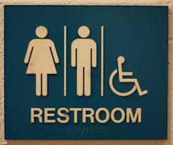 rock ridge women restroom sign blackwhite ada unisex ada restroom student unisex bathroom sign