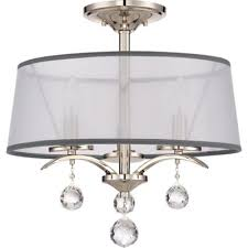 Crystal Ceiling Mount Light Fixture by Buy Crystal Flush Mount Light From Bed Bath U0026 Beyond