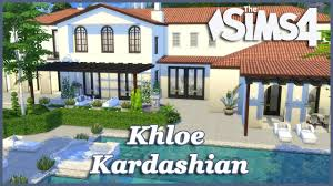 Khloe Kardashian Home by The Sims 4 Khloe Kardashian House Build Part 6 Youtube