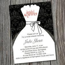 inexpensive bridal shower invitations black and white inexpensive wedding dress bridal shower