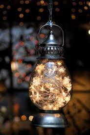 hanging lantern with lights pictures photos and images for
