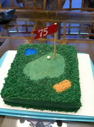 the weekly sweet experiment dad u0027s 75th golf birthday cake