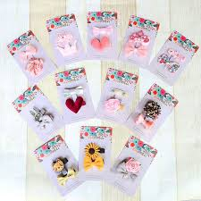 baby hair clip korea children set hair accessories luxury princess hair grips cat