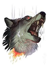 harmed wolf design best designs