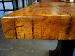 butcher block table on wheels butcher block table designs webtechreview com