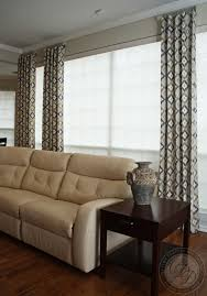 dining room curtain panels living room with custom drapery panels and modern chrome and