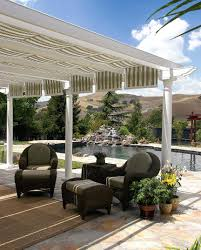 Pergola Gazebo With Adjustable Canopy by Outdoor Canopy Fabric U2013 Creativealternatives Co