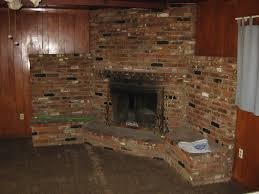 decorating home interior decoration using aged brick corner