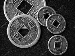 chinese feng shui coins u2014 stock photo flaps 2457320