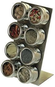 portaspezie magnetico soho spices set porta spezie magnetico in acciaio inox 14 5x15x28