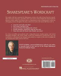 quotes about reading shakespeare shakespeare u0027s wordcraft softcover scott kaiser 0884088112967
