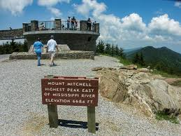 Nc State Parks Map by Hiking In Mount Mitchell State Park North Carolina