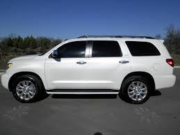 sold 2013 toyota sequoia platinum 4x4 7 860 miles white platinum