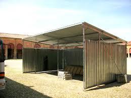 capannoni usati in ferro smontati capannone in ferro usato con coperture pvc usate e lamiera box