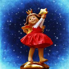 free images cute statue ceramic christmas toy deco art