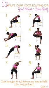 Desk Chair Workout 110 Best Chair Yoga Images On Pinterest Chairs Iyengar Yoga And