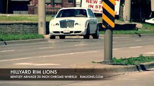 bentley arnage custom hillyard rim lions bentley arnage custom rims 22 inch custom