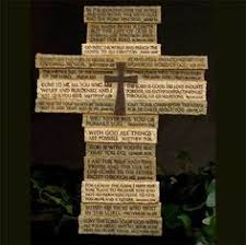 multi verse wall cross christianity faith and craft
