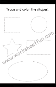 tracing u2013 shape tracing u2013 preschool free printable worksheets