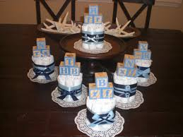 Centerpiece For Baby Shower by Baby Block Diaper Cake Baby Shower Centerpieces Navy And Baby