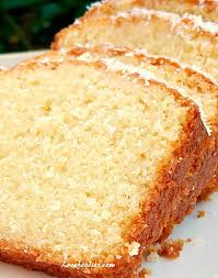 Coconut Cake Recipe Moist Coconut Pound Loaf Cake Lovefoodies