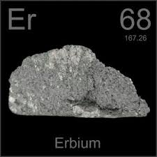 er element periodic table pictures stories and facts about the element erbium in the